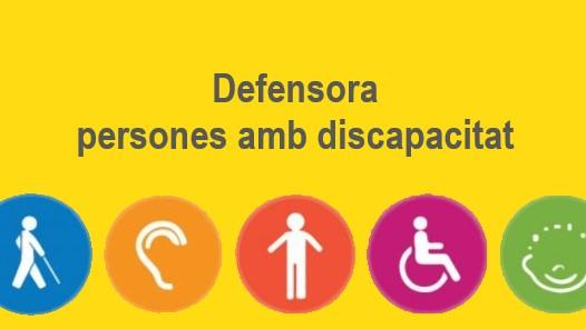 Defensora persones amb discapacitat